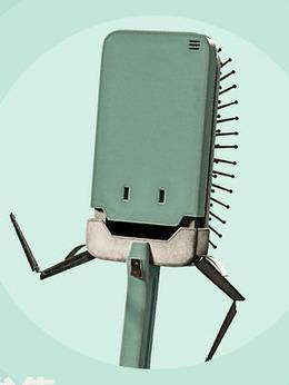 梳子机器人剧照