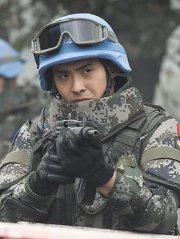 中国蓝盔演员沈浩剧照