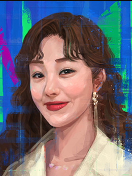 金智慧(42歲)(吳娜拉飾演)