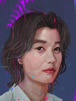 池雪英(51歲)(金正英飾演)