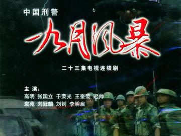 中国刑警之九月风暴 王奎荣