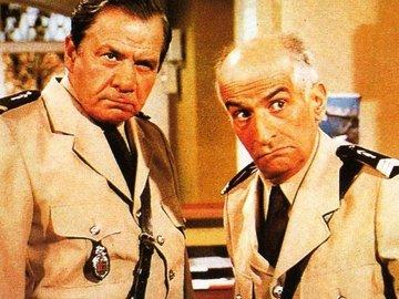 警察与外星人 路易·德·菲耐斯